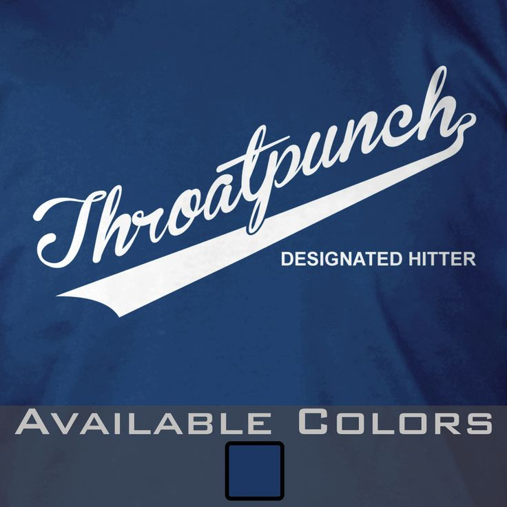 Throatpunch Designated Hitter T-Shirt - Gruntworks11b
