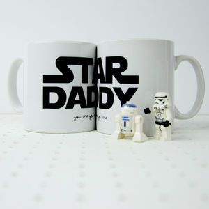 Star Wars Themed 'Star Daddy' Mug - view all father's day gifts