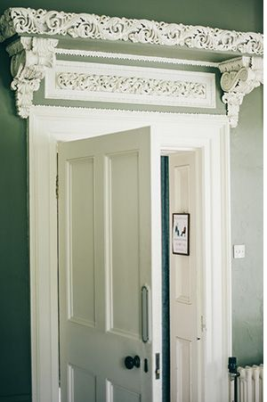 doorway detail in a country house