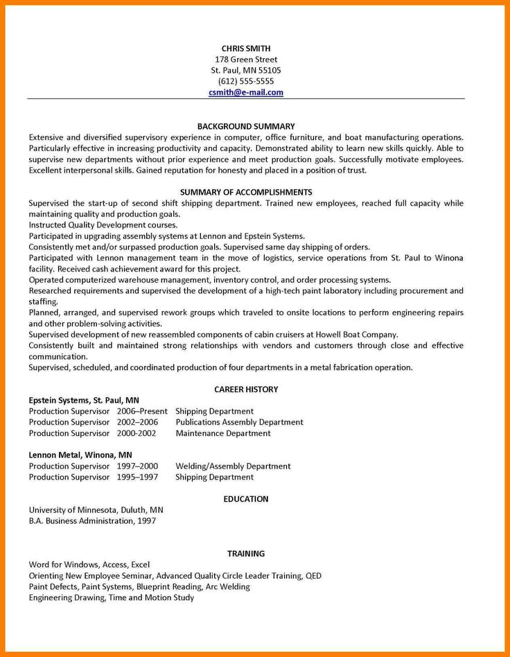 nanny resume template cubic in 2020 Good resume examples