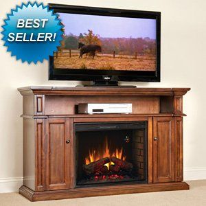 ChimneyFree Westhill 28inch Electric Fireplace Entertainment Center in Rose Cherry - 28MM1620-240