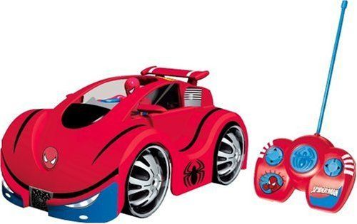 The Ultimate Spider-Man - Preschool Spidercar R/C - IMC @ niftywarehouse.com #NiftyWarehouse #Spiderman #Marvel #ComicBooks #TheAvengers #Avengers #Comics
