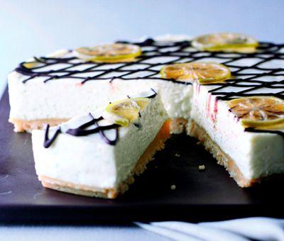Cheesecake & Key Lime Pie Recipe - Lime & Bitter Chocolate Cheesecake | Nestlé Carnation