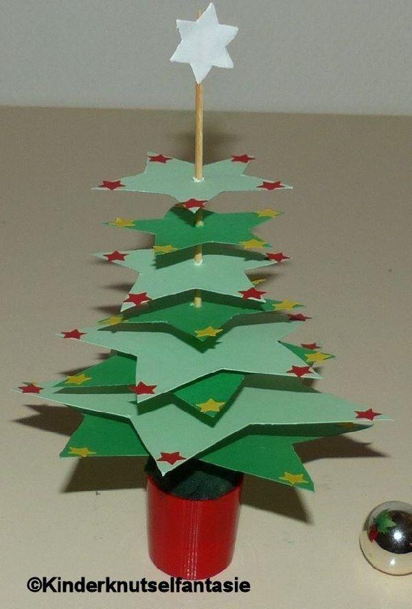 kerstboompjes voor op tafel kerst kerst knutselen