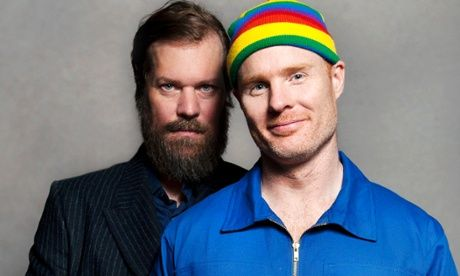 John Grant and Andy Butler