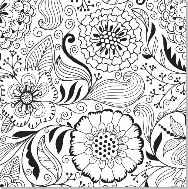 Free Colouring Pages Flowers Printable : 66 best coloring pages images on pinterest