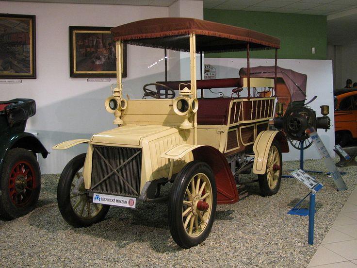 Nesselsdorfer Wagenbau-Fabriks-Gesellschaft Neuer Vierer Type B 1901-1904