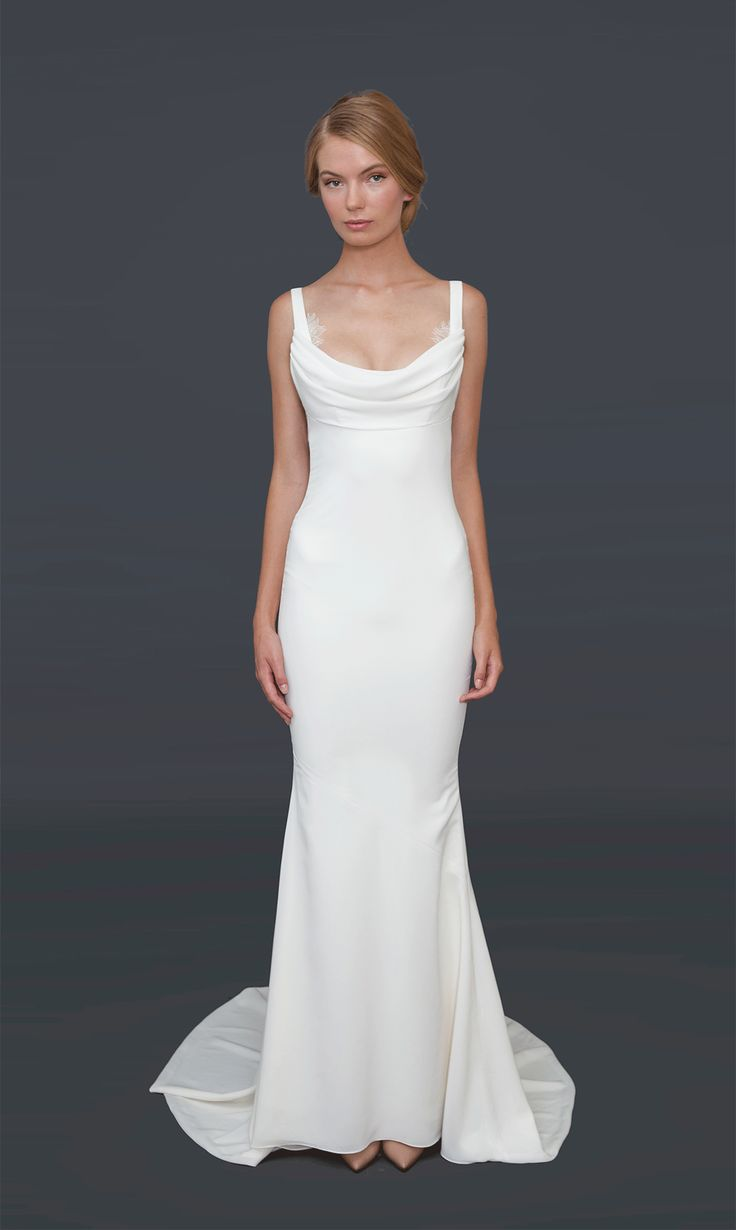 I think this is the one (minus the little fluffy things) Barcelona Gown | Katie May