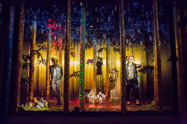 Sparkling, Enchanting, and Downright Strange Holiday Windows from Across the Globe