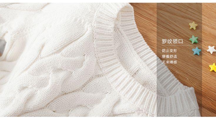 Пуловер спицами для девочек широкими косами - Perchinka63