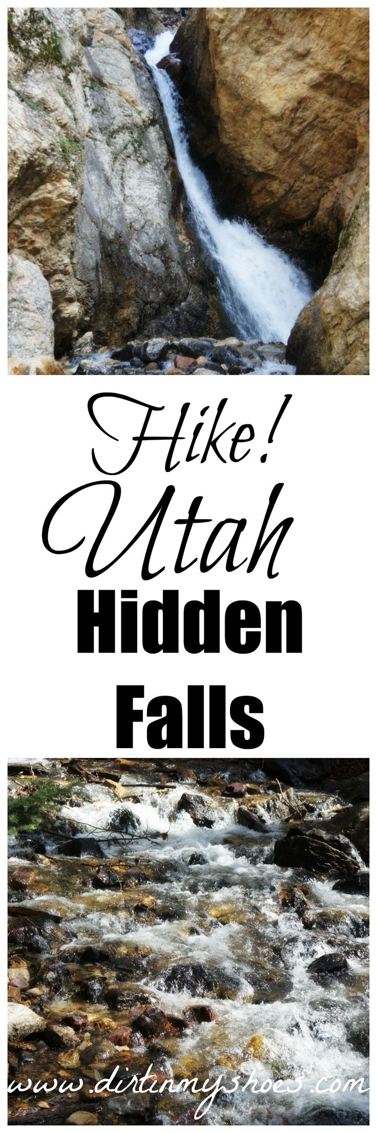 Three Waterfalls, One Parking Area.  Hike Hidden Falls!  | Dirt In My Shoes