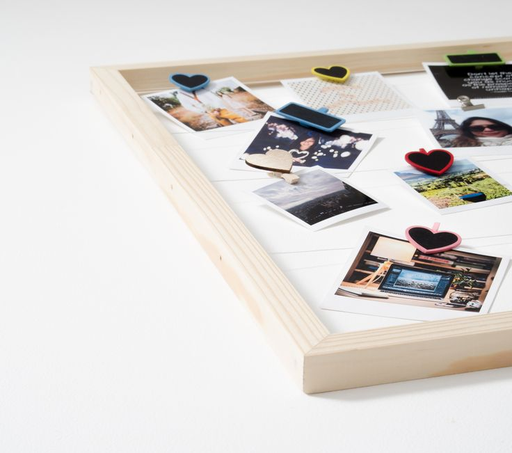 Timeframe's Large Floating Frame is the perfect way to show off your super cute snaps. This frame + your pics and our pegs = a stylish display of your memories.   This frame is made with twine and pine.