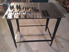 Strong Hand Tools FixturePoint Welding Table- 28-Pc. Startup Kit Square Stock