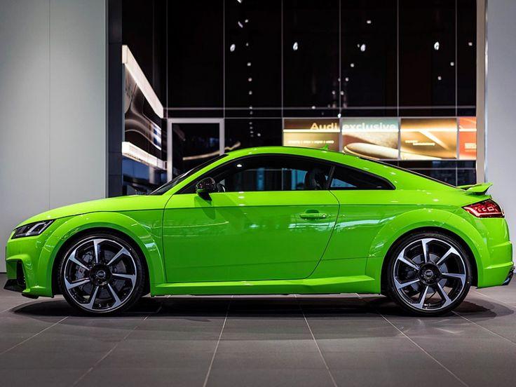 Audi TT RS (2016) in Lime Green   Bild 2 - autozeitung.de