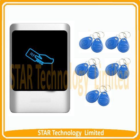 Free Shipping RFID access controler Proximity Entry Door Lock Access Control System +10 Keyfobs
