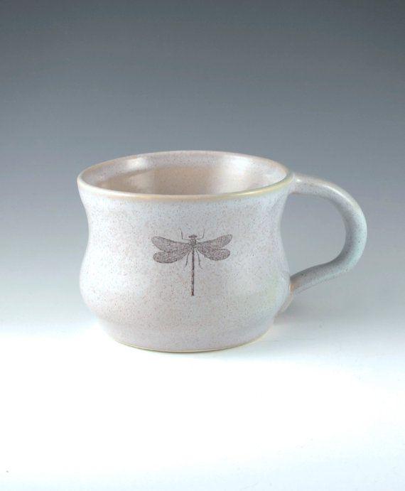 Dragonfly Coffee Mug by dreadfulpines on Etsy, $16.00