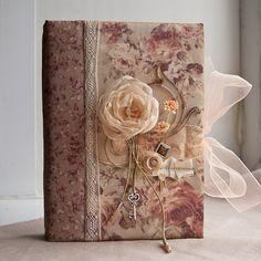 """Купить Блокнот """"Розовые лепестки"""" - блокнот, роза, чайная роза, винтаж, женственно"""