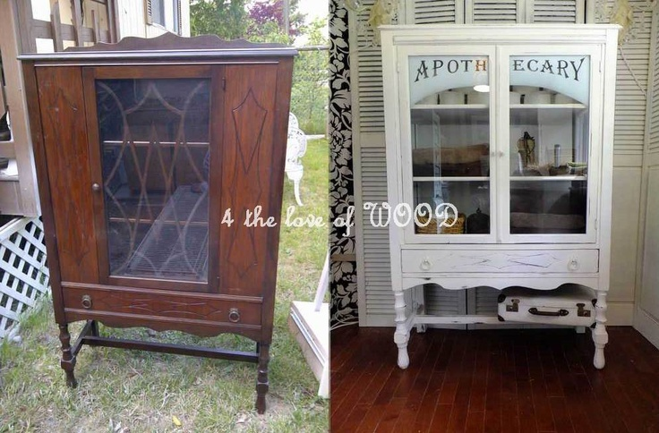 4 the love of wood: BEFORE & AFTER - recaping projects