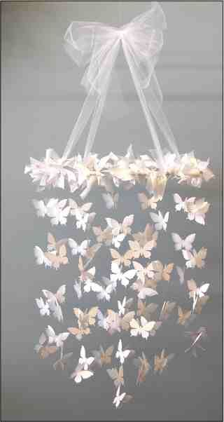 DIY butterfly mobile, my next little project