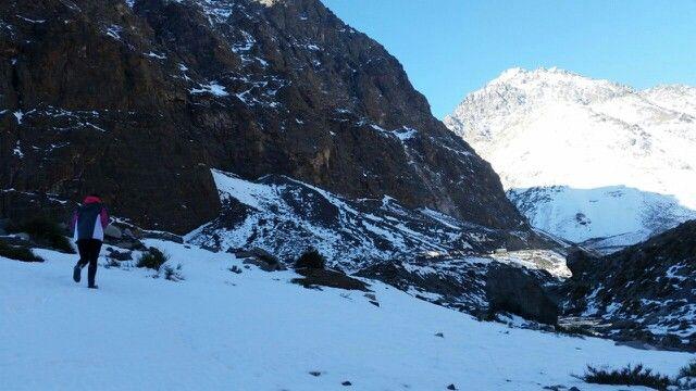Cordillera de Los Andes, V región, 2015.