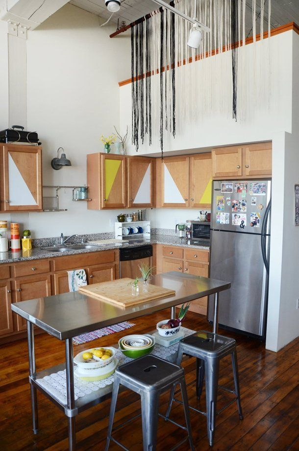 Real Life Design 3 Renters Who Made Lemonade Out Of Lemon Rental Kitchens Baths Solutions Pinterest Kitchen Home And