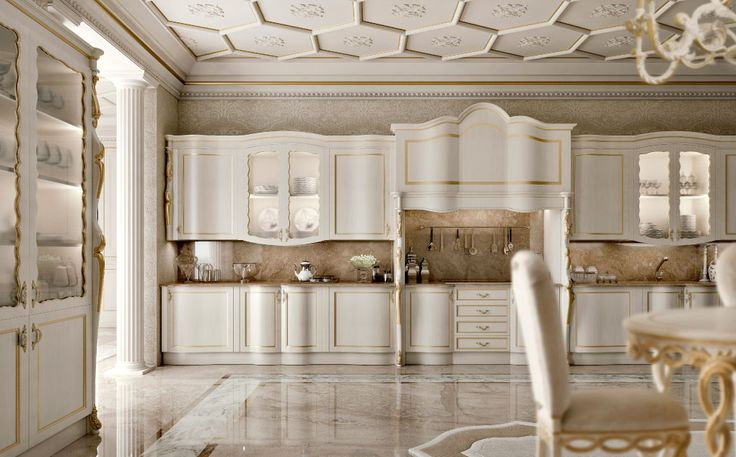 Anyone's home can benefit from the quality and beauty provided by #Italian #luxury #kitchen #furniture, and Andrea Fanfani offers some of the most #elegant #furnishings that money can buy