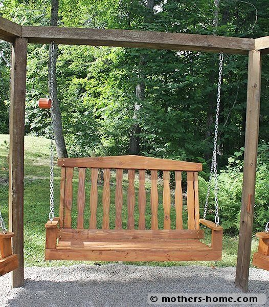 fire pit with swings | Fire Pit Swing Set {as seen on Pinterest} | Mother's Home