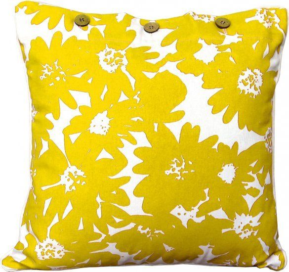 Martini Yellow Cushion Covers