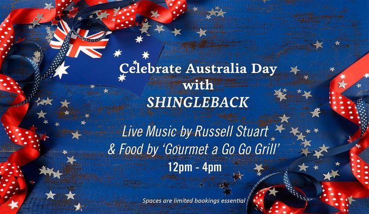 Celebrate Australia Day at the gorgeous @shinglebackwine with food by Gourmet a Go Go catering wine and live music by local singer/guitarist Russell Stuart. 12pm - 4pm. Click on the link in our bio for more info. . . . . . #365daysofwine #365daysofwineandfood #sawine #sawinery #southaussiewine #sawineandfoodevent #sawineandfood #australiaday #wineonaustraliaday #wineandfood #shinglebackandredknotwine #shingleback #mclarenvale #mclarenvalewine #southaustralia #celebratesouthaustralia…