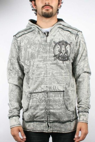 AFFLICTION Impulse Reversible Distressed Mens « Clothing Impulse