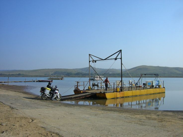 Kei River Ferry Crossing, Transkei, South Africa