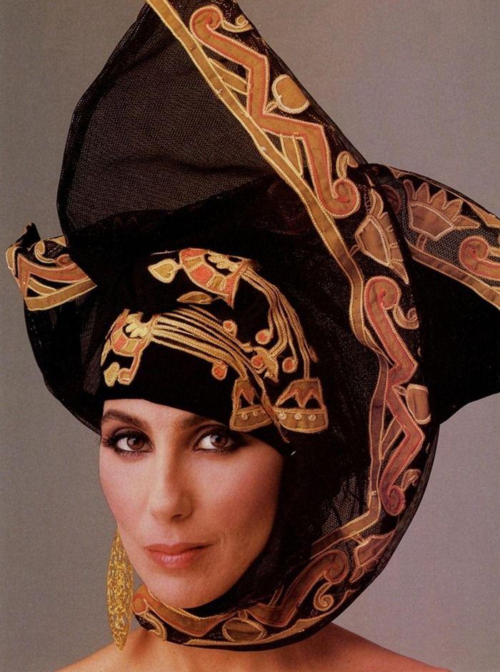 Cher by Annie Leibovitz, 1968