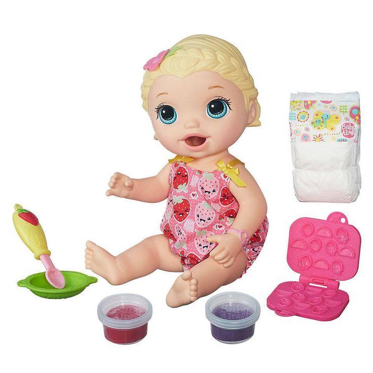 Baby Alive Lili Blonde Super Snack Snackin, New Brand #newbrand