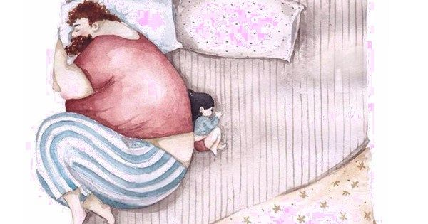14 Heartwarming Illustrations Showing The Love Between Dads And Their Little Girls