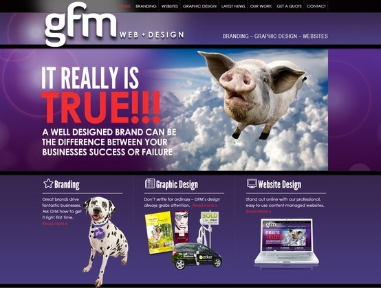 Check out GFM's own responsive website.  This site consists of a full content management system, galleries, newsdesk and newsletter module.  www.gfmweb.co.nz
