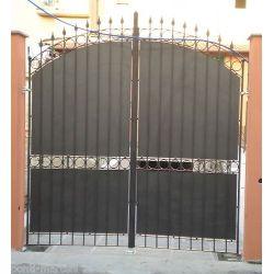 Wrought Iron Driveway Gate. Customize Realisations. 059