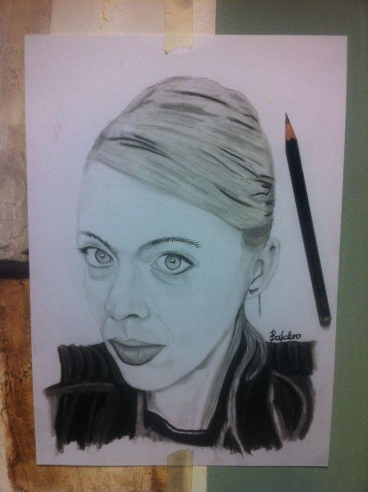 Pencil drawing...