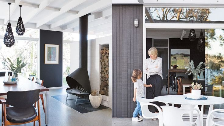 This 1959 modernist home was revamped in just 6 weeks.   Photography by Simon Whitbread. Styling by Kerrie-Ann Jones.  From the March 2018 issue of Inside Out Magazine. Available from newsagents, Zinio, https://au.zinio.com/magazine/Inside-Out-/pr-500646627/cat-cat1680012#/ and Nook.      #insideoutmag #modernstyle #colour #interiors #renovation