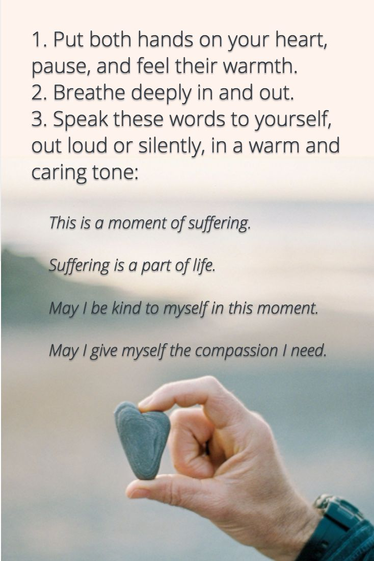 A meditation from self-compassion researcher Kristin Neff. Read more: