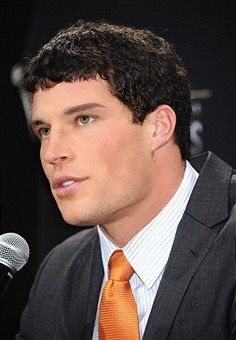 Luke Kuechly talks at a presser, and I stare lol