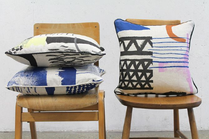 pillows by Laura Slater