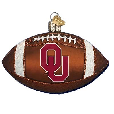 Oklahoma University Football Christmas Ornament Old World Christmas 60400 ... Shift+R improves the quality of this image. CTRL+F5 reloads the whole page.