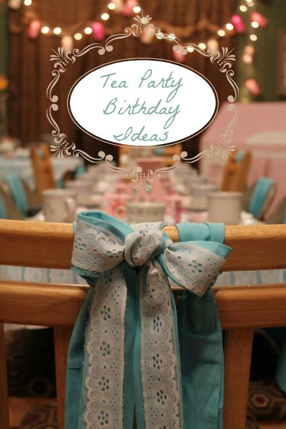 Tea Party Recipes | Tea Party Birthday Ideas and Cloud Cookie Recipe