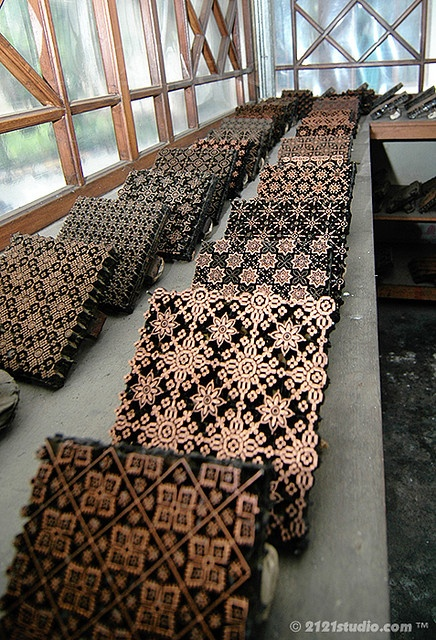 Batik Stamps, Indonesia