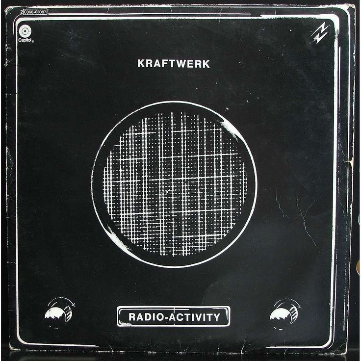 1975 #Kraftwerk #radio #activity  #music #albumcover #vinyl #cd #vintage #electronicMusic #band #germany #german #musician #classic #art #drawing #Allemagne