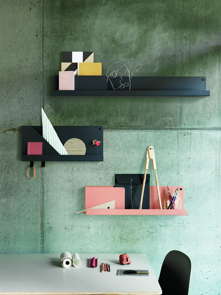NEW MUUTO PRODUCT: 'FOLDED' - A SOPHISTICATED SHELVING SYSTEM WITH ARCHITECTURAL DETAILS  With FOLDED, the Dutch designer Johan Van Hengel has created a shelving system that is both decorative and practical, accommodating one's desire to organize and display essential everyday objects in an equally aesthetic and practical fashion #foldedshelves #shelves #muuto #muutodesign #scandinaviandesign