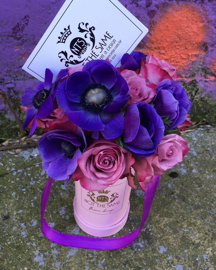 Mixing pink & purple