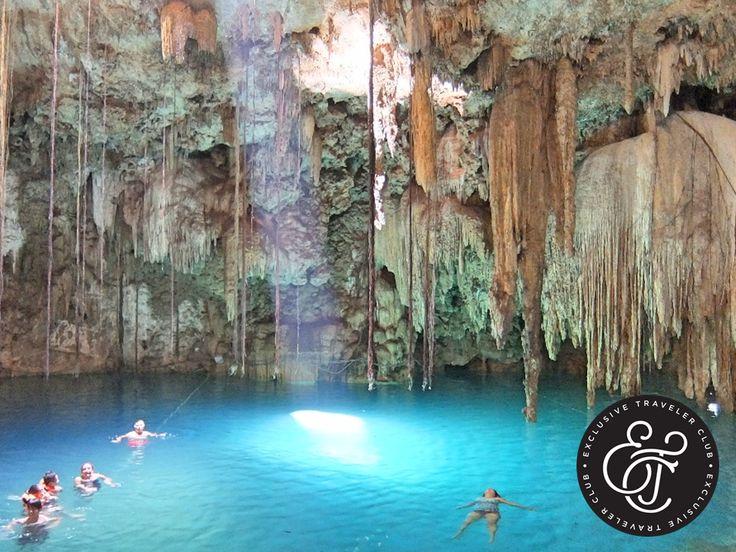 EXCLUSIVE TRAVELER CLUB. Visitar los cenotes de la Riviera Maya, es una de las mejores experiencias que vivirá durante sus vacaciones en el Caribe mexicano. En muchos de ellos existe la posibilidad de nadar, hacer snorkeling y hasta buceo, actividades que permiten contemplar toda la belleza que guardan estos místicos lugares. En Exclusive Traveler Club le recomendamos hospedarse en uno de los Home Resorts Catalonia de Cancún, para que no deje pasar la oportunidad de visitarlos. #ETC