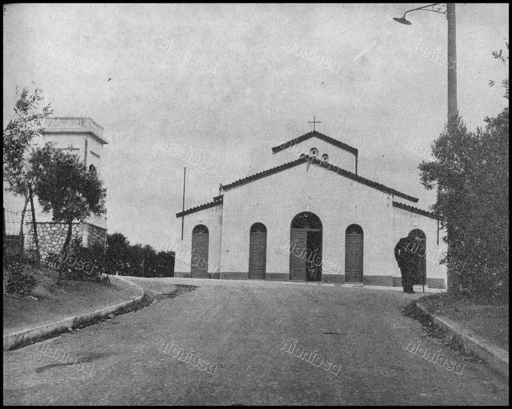 Ο Ι.Ν. του Προφήτη Ηλία στην Καστέλλα, Πειραιάς, 1966.