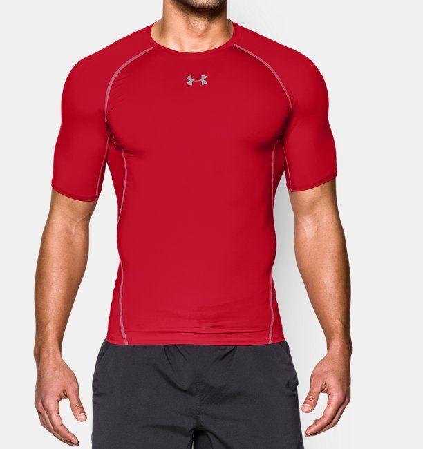 Ua Heatgear® De Camiseta Compresión Para Hombre Armour Manga Corta pwCRx